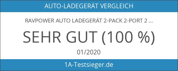 RAVPower Auto Ladegerät 2-Pack 2-Port 24W 5V