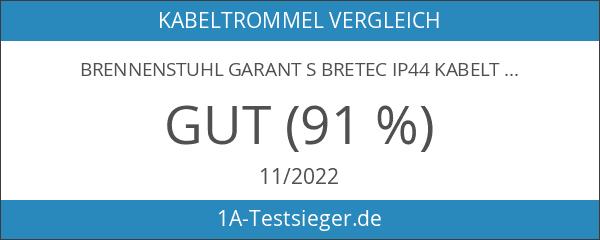 Brennenstuhl Garant S Bretec IP44 Kabeltrommel outdoor 50m