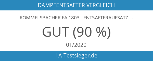 ROMMELSBACHER EA 1803 - ENTSAFTERAUFSATZ - weiß