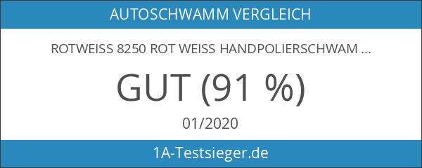 Rotweiss 8250 ROT WEISS Handpolierschwamm Profi