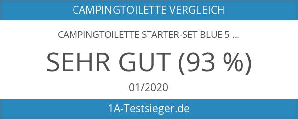 Campingtoilette Starter-Set Blue 5