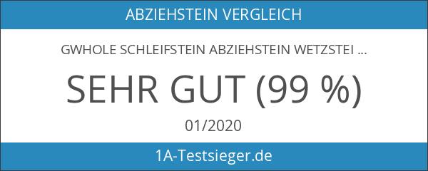 GWHOLE Schleifstein Abziehstein Wetzstein Körnung 240