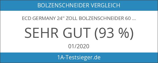 ECD Germany 24'' Zoll Bolzenschneider 60cm mit gehärtetn Backen und