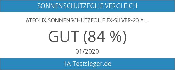 atFoliX Sonnenschutzfolie FX-Silver-20 Aussen