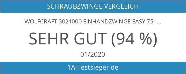 Wolfcraft 3021000 Einhandzwinge Easy 75-300 30