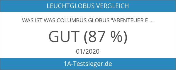 """WAS IST WAS Columbus Globus """"Abenteuer Erde"""": Mit TING-Stift"""