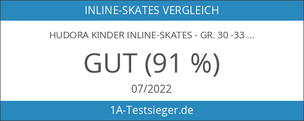 HUDORA Kinder Inline-Skates - Gr. 30 -33