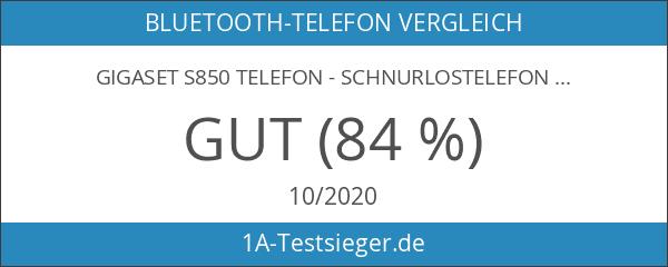Gigaset S850 Dect-Schnurlostelefon