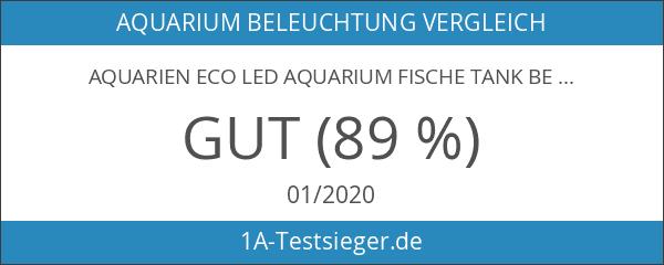 Aquarien Eco LED Aquarium Fische Tank Beleuchtung Aufsetzleuchte Blau Weiß