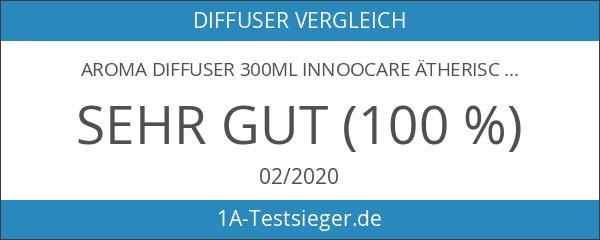 Aroma Diffuser 300ml InnooCare ätherisches Öl Zerstäuber Ultraschall Aromatherapie Holzmaserung
