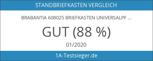 Brabantia 608025 Briefkasten Universalpfahl U 100 Edelstahl gebürstet