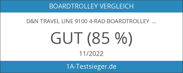 d&n Travel Line 9100 4-Rad Boardtrolley 55cm 13 grau