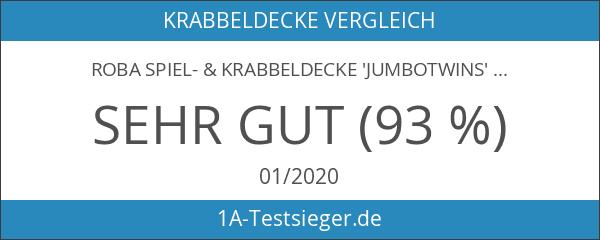 Roba 1406 S145 Spiel- und Krabbeldecke Jumbotwins