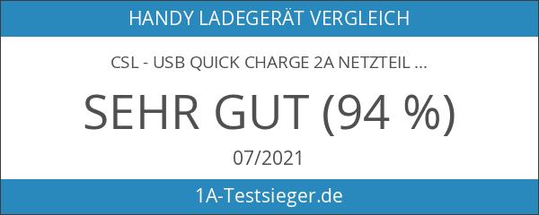 CSL - USB Quick Charge 2A Netzteil
