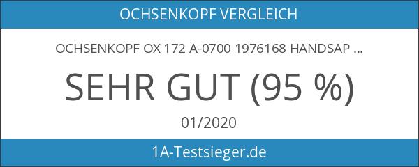 Ochsenkopf OX 172 A-0700 1976168 Handsapie mit Alu-Stiel 700 mm