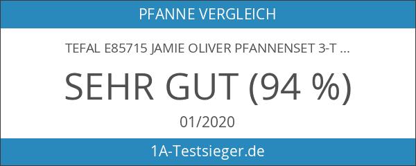 Tefal E85715 Jamie Oliver Pfannenset 3-tlg