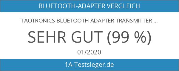 TaoTronics Bluetooth Adapter Transmitter Empfänger 2 in 1 Sender