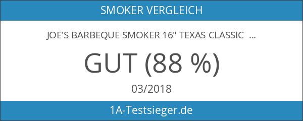 Joe's Barbeque Smoker 16' Texas Classic