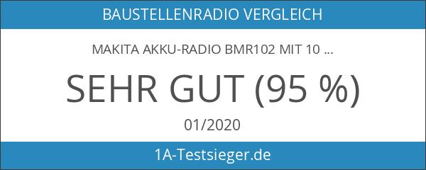 Makita Akku-Radio BMR102 mit 10
