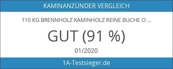 110 Kg Brennholz Kaminholz reine Buche ofenfertig kammergetrocknet in 25