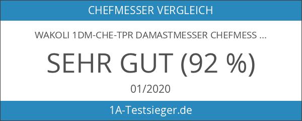Wakoli 1DM-CHE-TPR Damastmesser Chefmesser