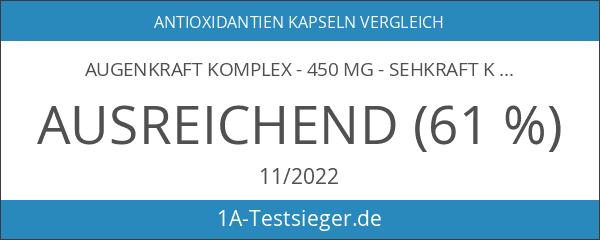 AugenKraft Komplex - 450 mg - Sehkraft Komplex plus Schutz