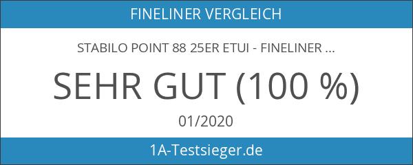 STABILO point 88 25er Etui - Fineliner