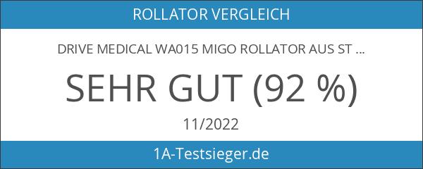 Drive Medical WA015 Migo Rollator aus Stahl