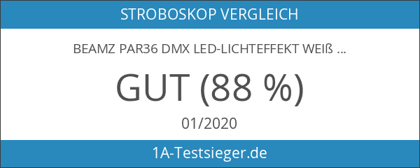 Beamz PAR36 DMX LED-Lichteffekt weiß