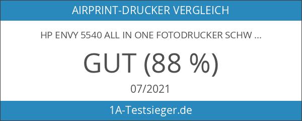 HP ENVY 5540 All in One Fotodrucker schwarz