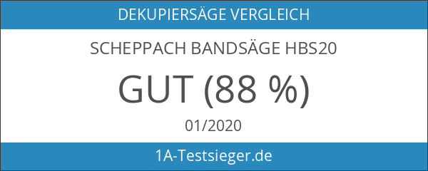 Scheppach Bandsäge HBS20