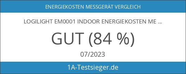 LogiLight EM0001 Indoor Energiekosten Messgerät