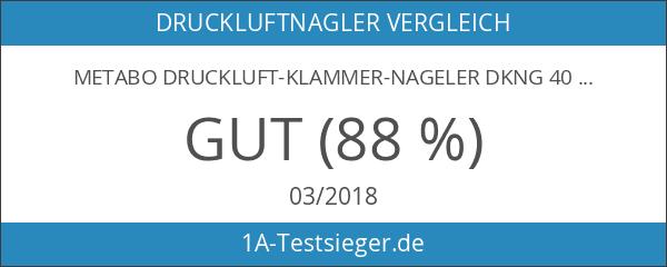 Metabo Druckluft-Klammer-Nageler DKNG 40