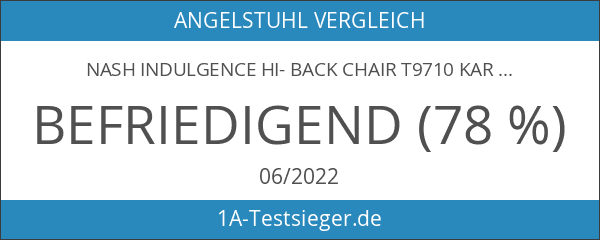Nash Indulgence Hi- Back Chair T9710 Karpfenstuhl