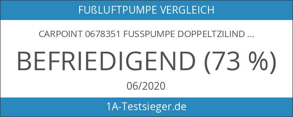 Carpoint 0678351 Fusspumpe Doppeltzilinder Premium