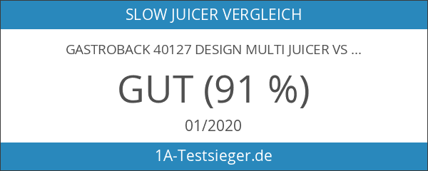 Gastroback 40127 Design Multi Juicer VS