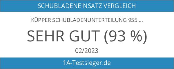 Küpper Schubladenunterteilung 955