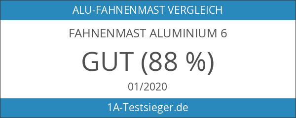 Fahnenmast Aluminium 6