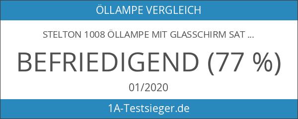 Stelton 1008 Öllampe mit Glasschirm satiniert