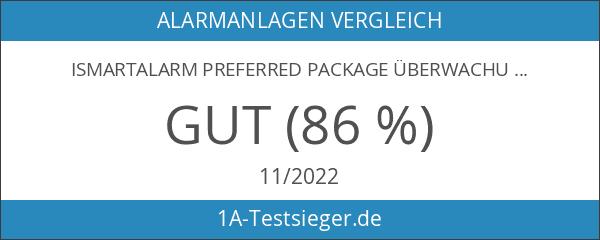 iSmartAlarm Preferred Package Überwachungssystem