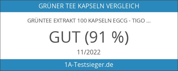 Grüntee Extrakt 100 Kapseln EGCG - tigovit