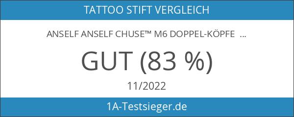 Anself Anself CHUSE™ M6 Doppel-Köpfe professionelle Permanent Make-up manuelle Augenbrauen