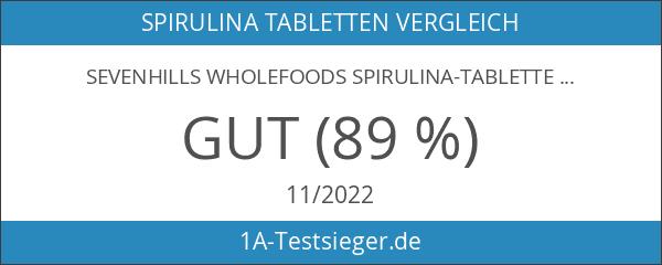 Sevenhills Wholefoods Spirulina-Tabletten Bio 2000 x 500mg