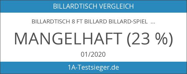 Billardtisch 8 ft Billard Billard-Spiel Messung 220 x 110 cm