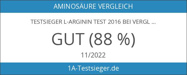 TESTSIEGER L-Arginin Test 2016 bei vergleich.org! BoNutri Original Arginin 1500