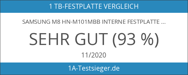 Samsung M8 HN-M101MBB Interne Festplatte 1TB