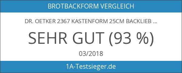 Dr. Oetker 2367 Kastenform 25cm BackLiebe Emaille