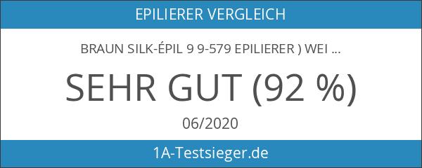 Braun Silk-épil 9 9-579 Epilierer ) weiß