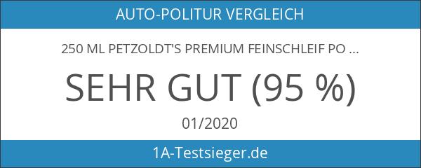 250 ml Petzoldt's Premium Feinschleif Politur