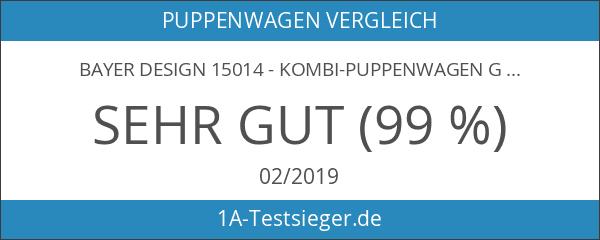 Bayer Design 15014 - Kombi-Puppenwagen Grande